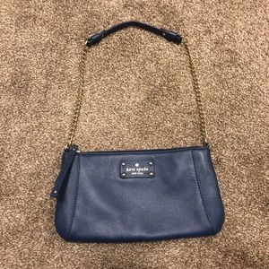 EUC kate spade small leather shoulder bag
